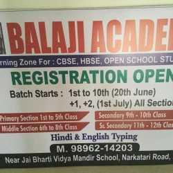 Balaji Academy, Kurukshetra H O - Computer Training