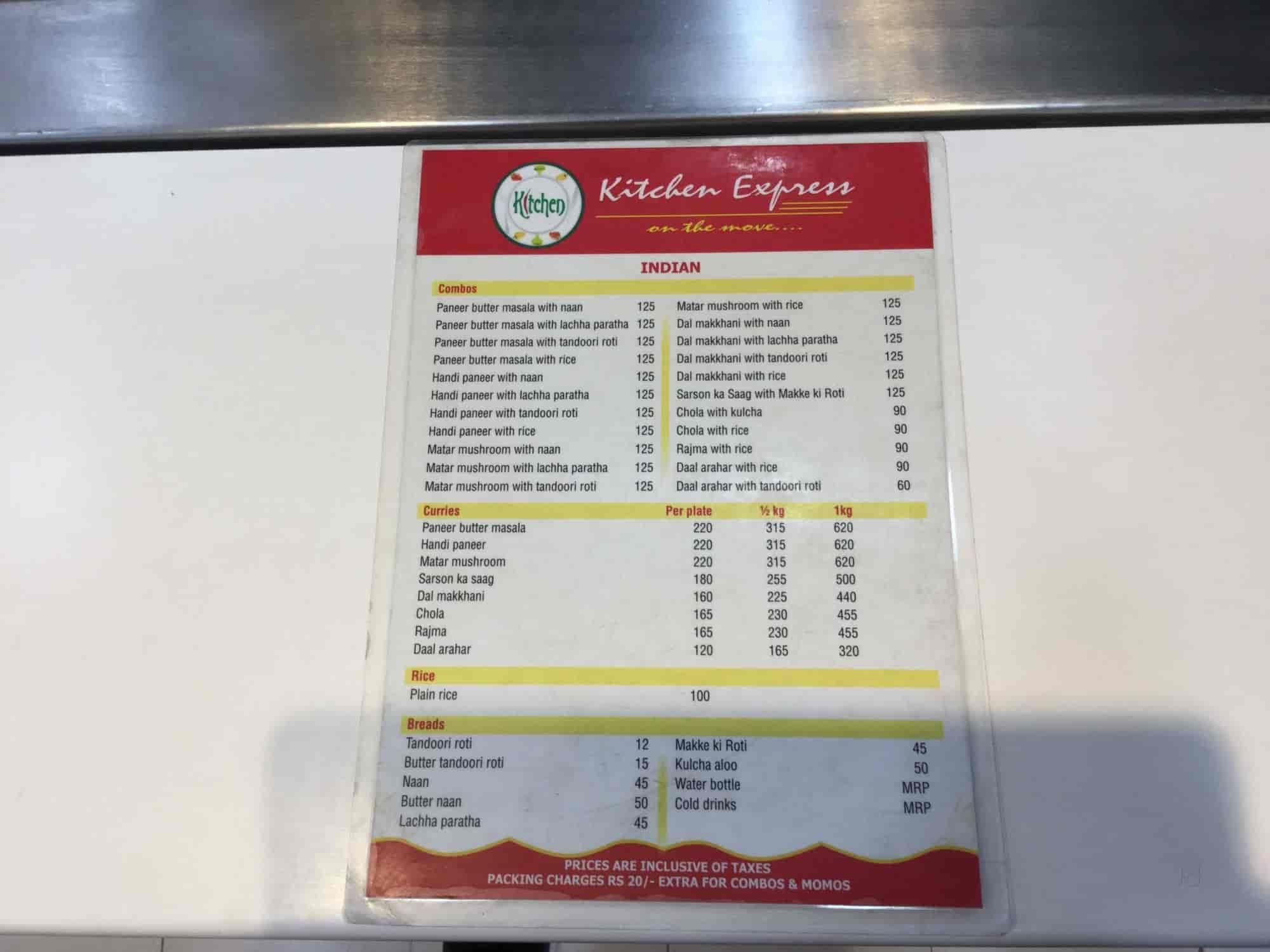 Kitchen Express, Indira Nagar, Lucknow - North Indian Restaurants ...