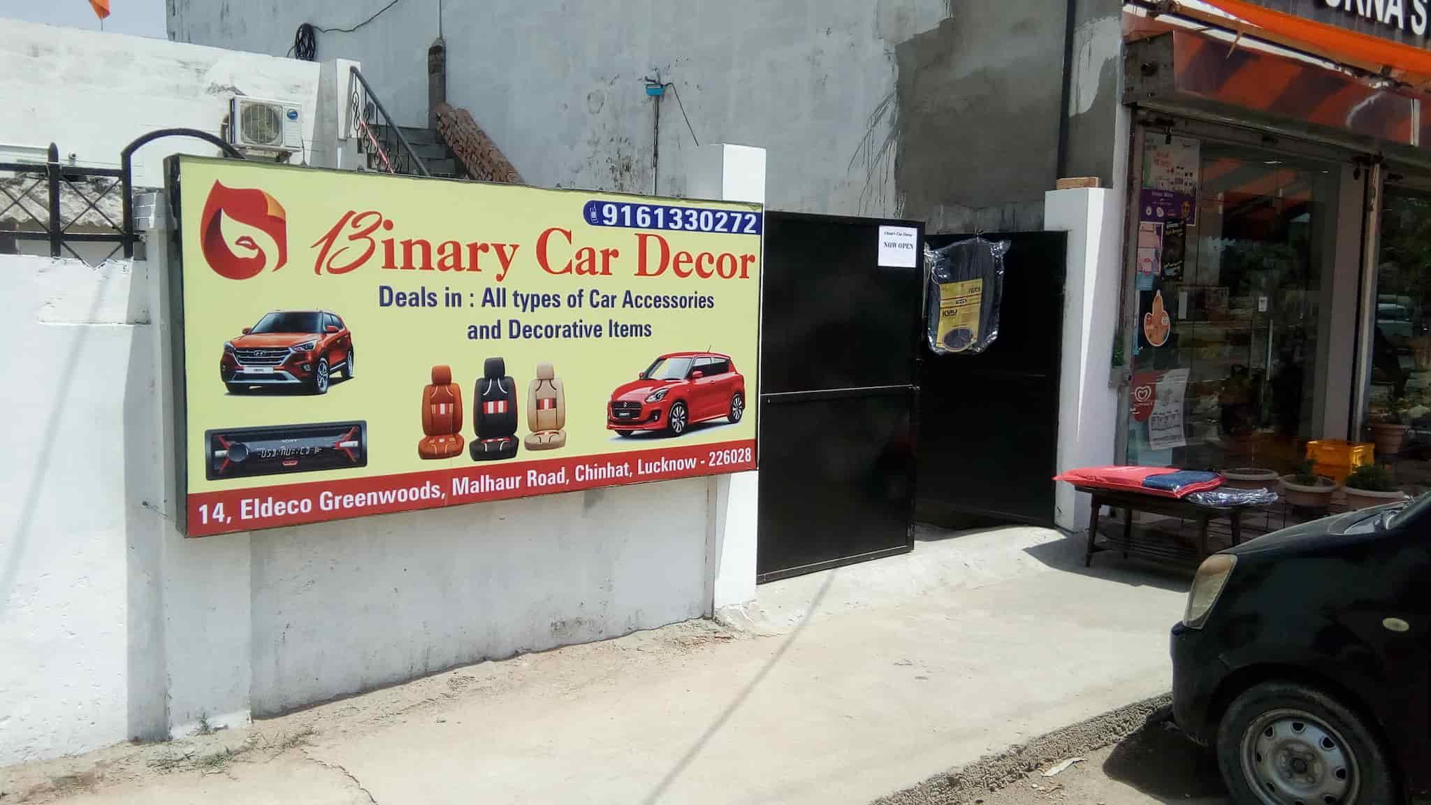 Binary Car Decor Gomti Nagar Car Accessory Dealers In Lucknow