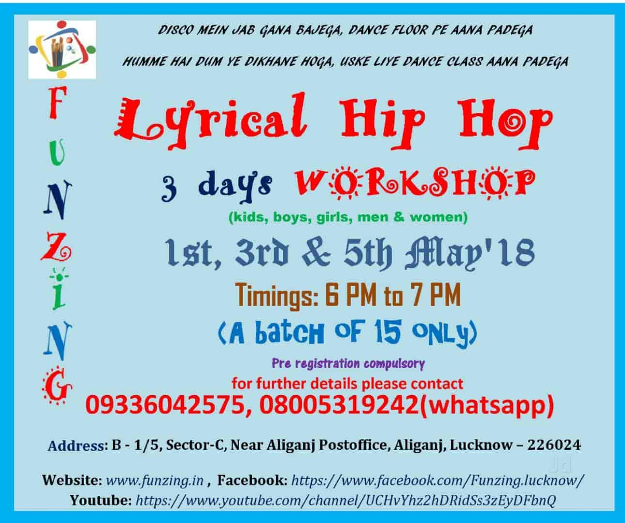 Funzing The Kids Club, Aliganj - Dance Classes in Lucknow