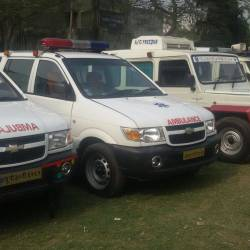Lucky Ambulance Service, Medical College - Ambulance