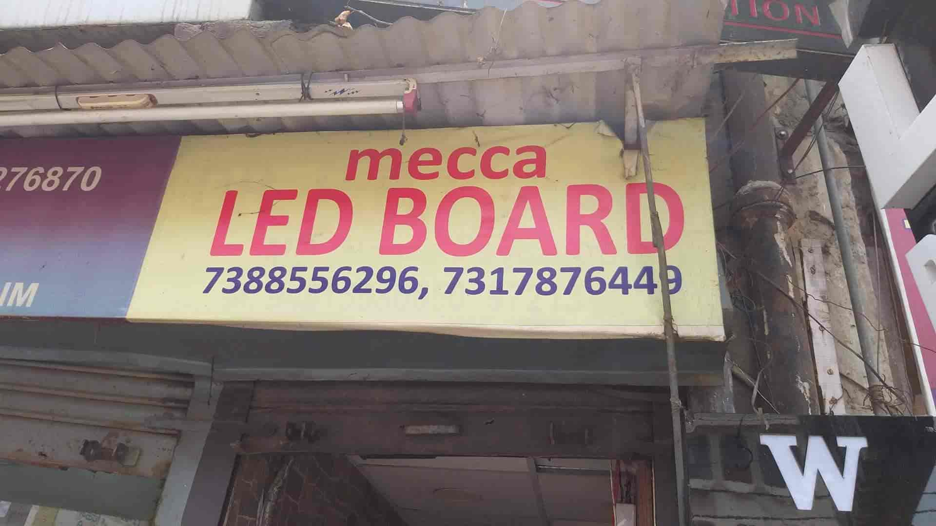 Mecca 3d Sign, Cantt Road - LED Sign Board Dealers in Lucknow - Justdial