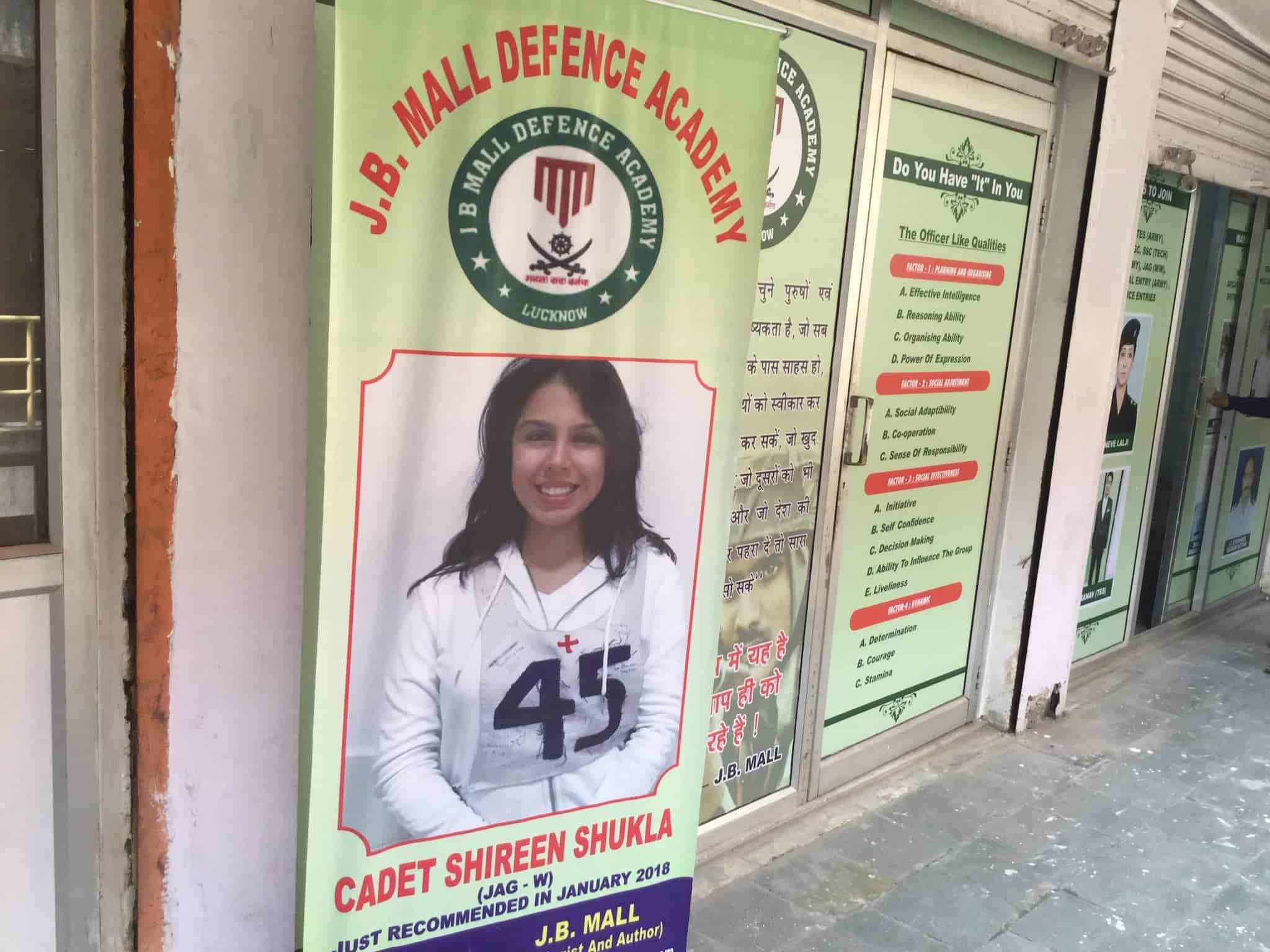 J B Mall Defence Academy, Indira Nagar Lucknow - Tutorials