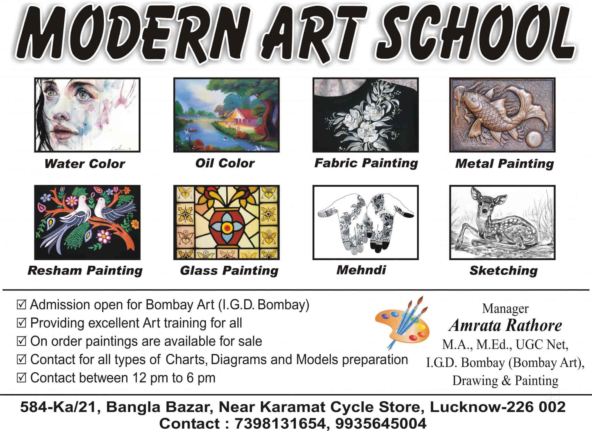 Modern art school, Bangla Bazar - Arts & Crafts Classes in