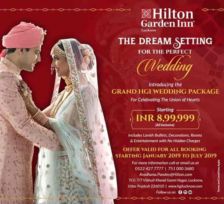 Hilton Garden Inn, Gomti Nagar - 4 Star Hotels in Lucknow