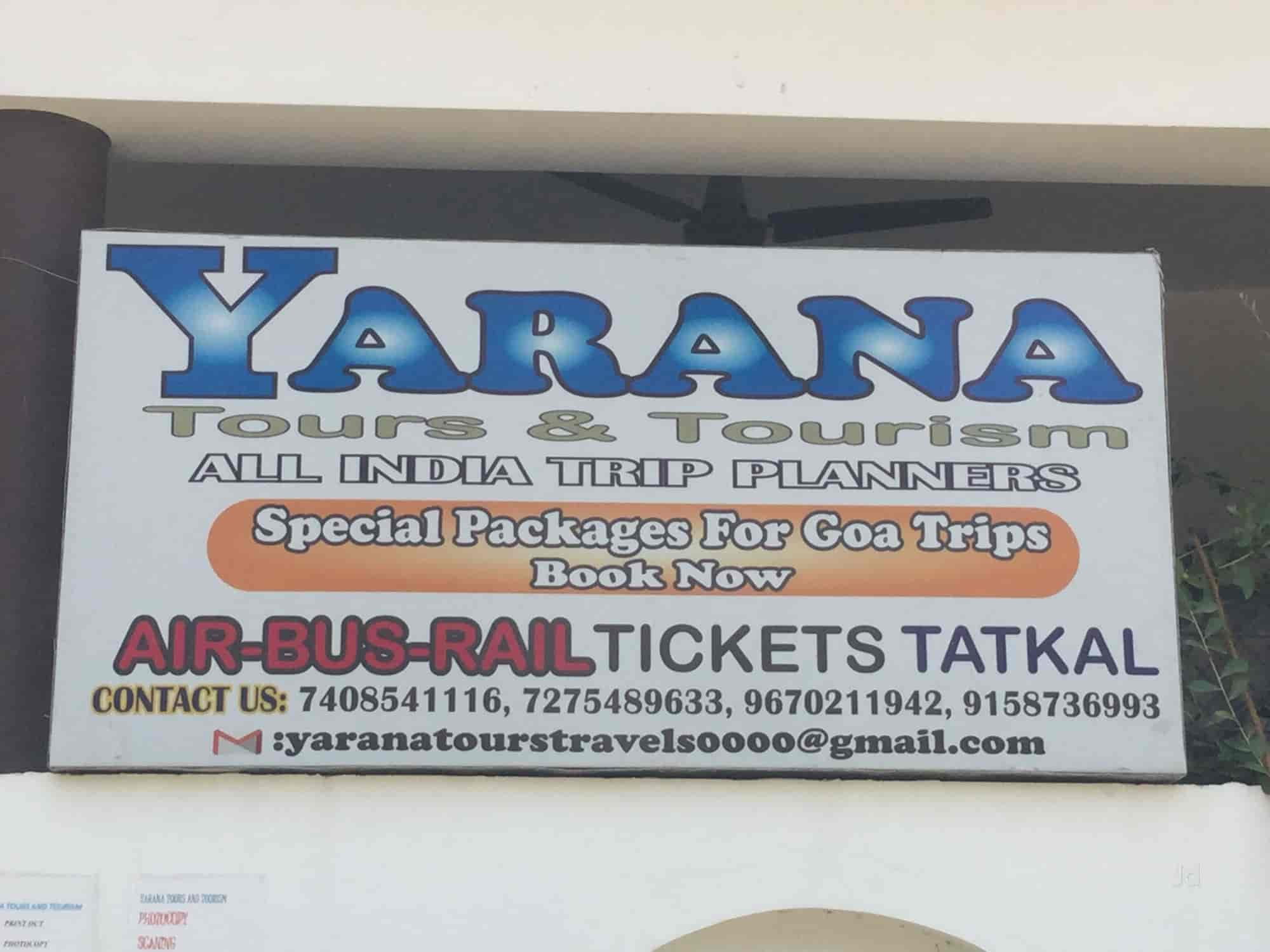 Yarana Tours & Tourism, Aashiyana - Travel Agents in Lucknow