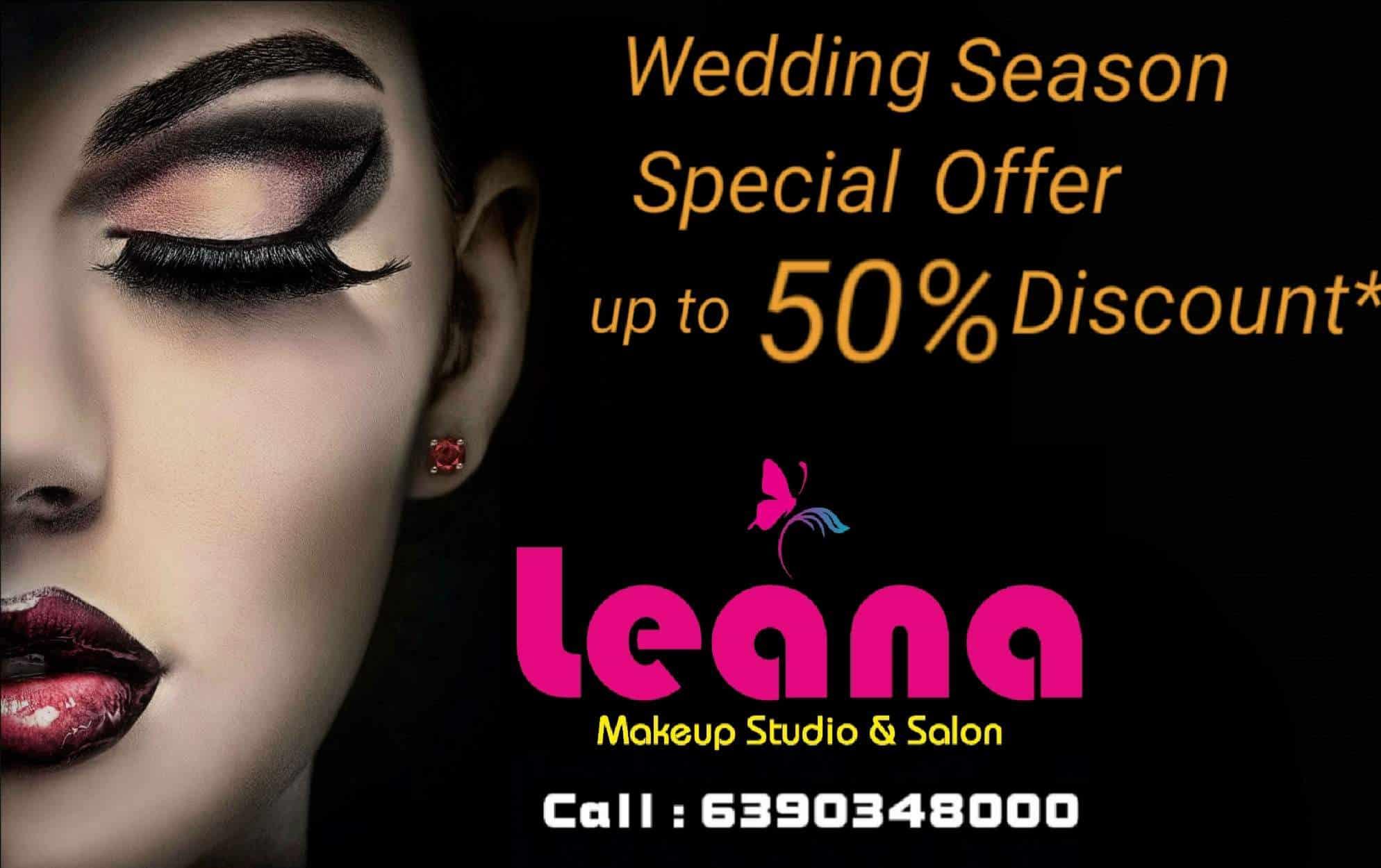 Leana Makeup Studio & Salon, Indira Nagar - Beauty Salons in Lucknow - Justdial