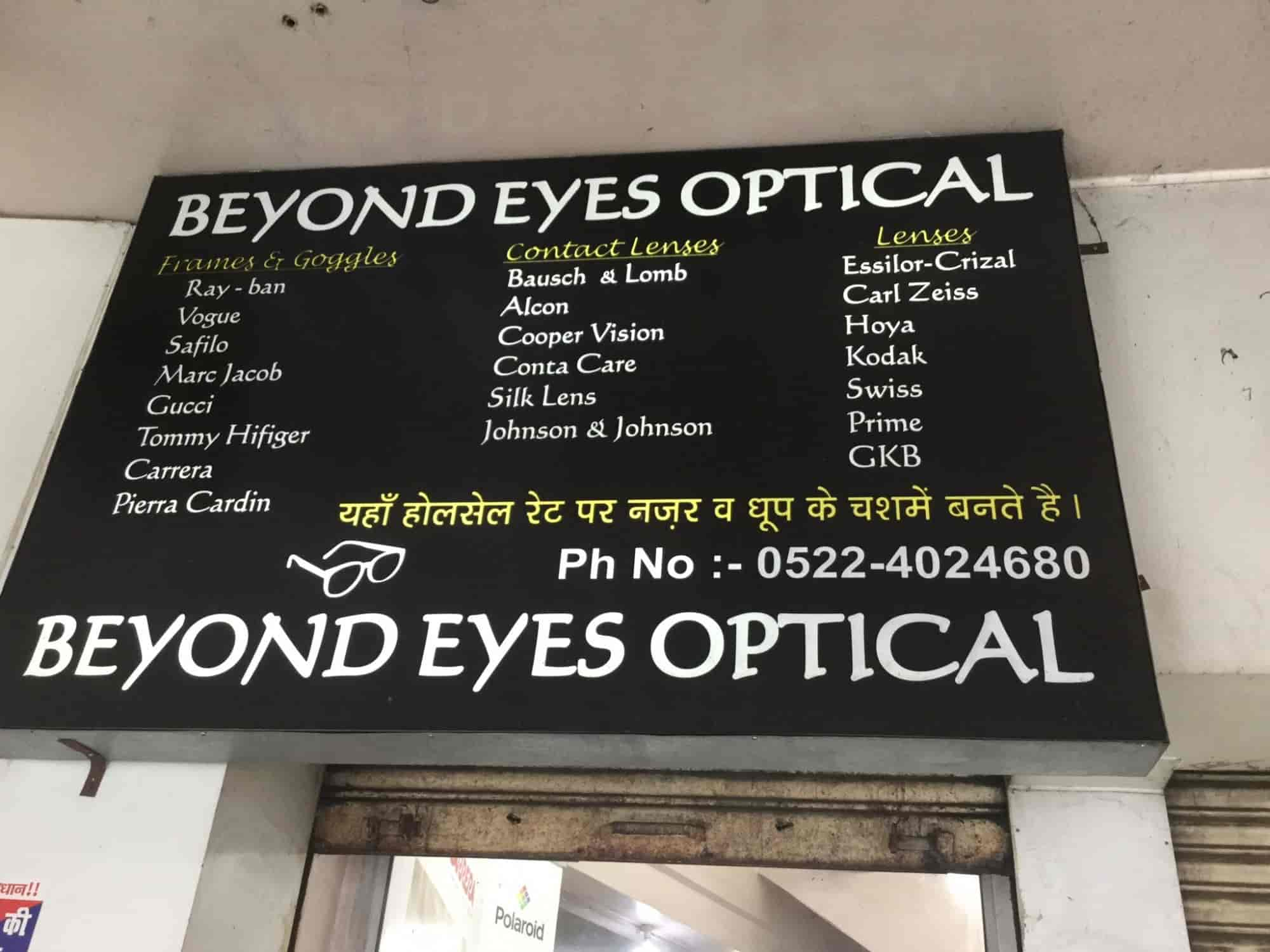 Beyond Eyes Optical, Qaiserbagh - Opticians in Lucknow