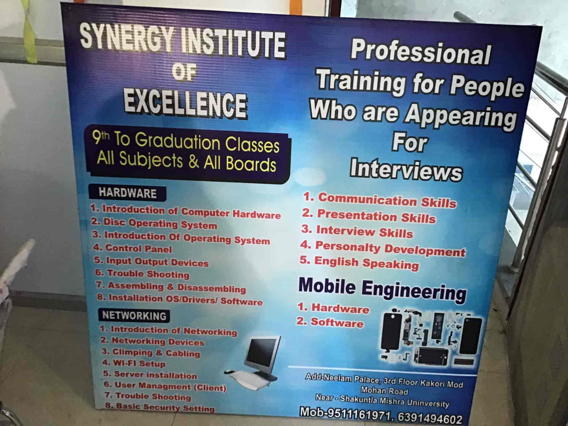 Synergy Institute Of Excellence, Mohan Road - Computer