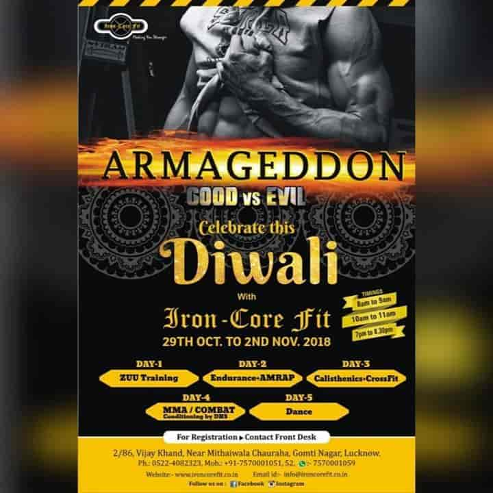 Iron Core Fit, Gomti Nagar - Gyms in Lucknow - Justdial