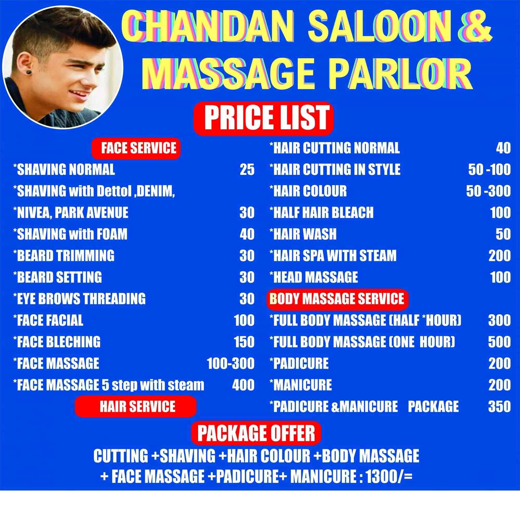 Chandan Saloon & Massage Parlour, Aliganj - Body Massage