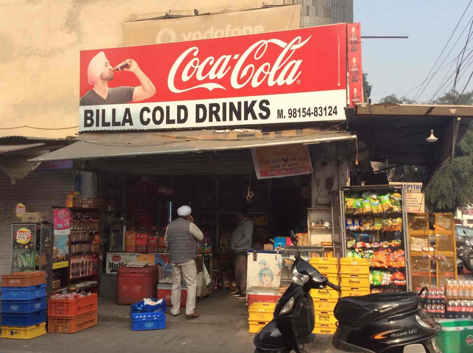 Billa Cold Drink Model Town Soft Drink Distributors In Ludhiana