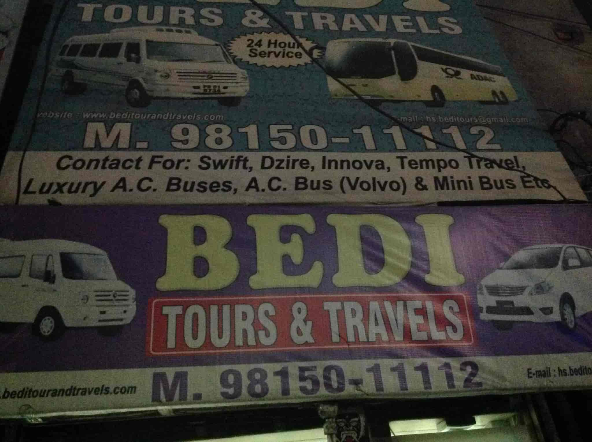 Bedi Tour And Travels, Railway Station - Travel Agents in