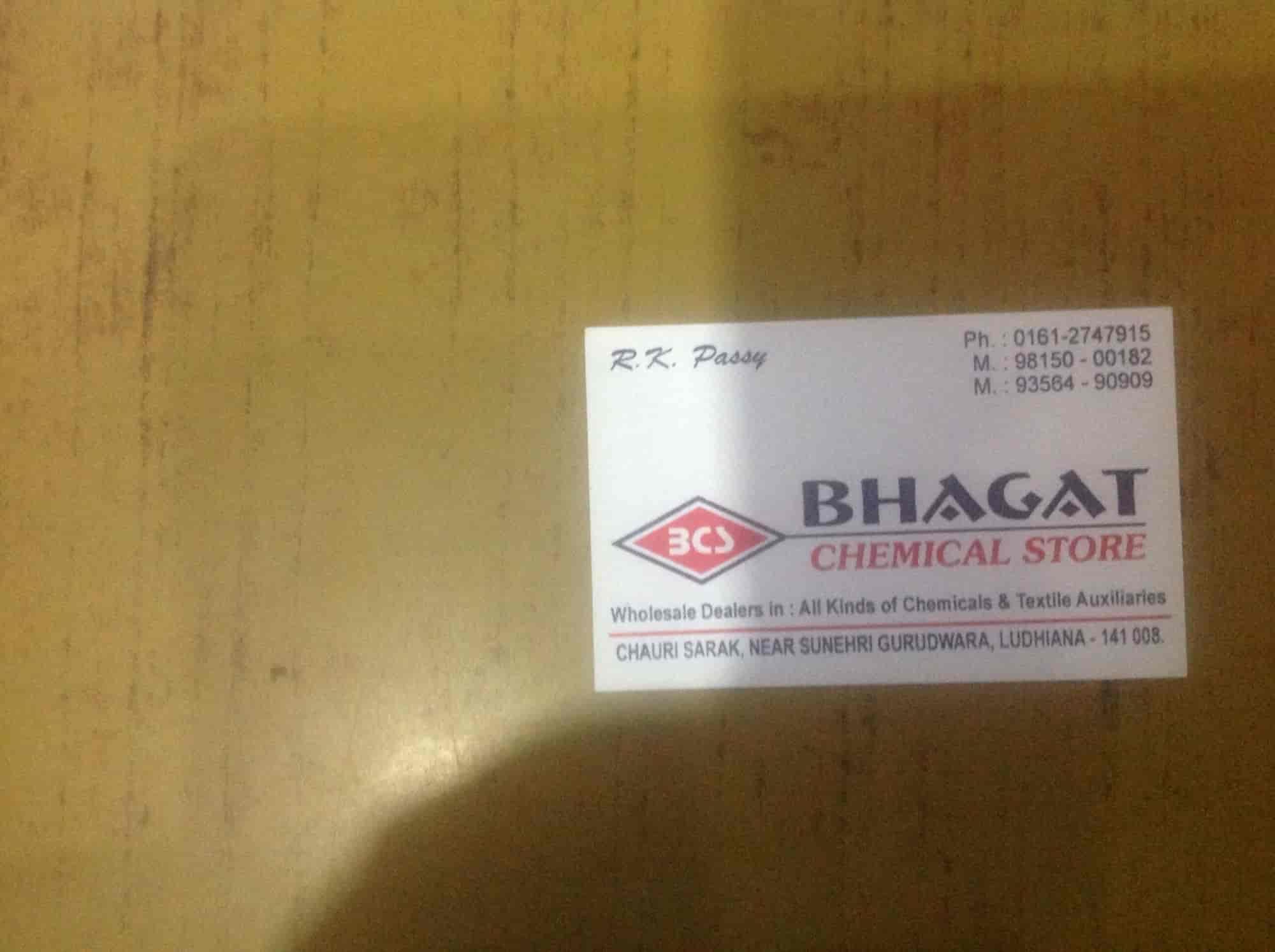 Bhagat Chemicals Store, Chauri Sarak - Industrial Chemical
