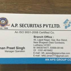A P Securitas Pvt Ltd, Bus Stand - Security Services in