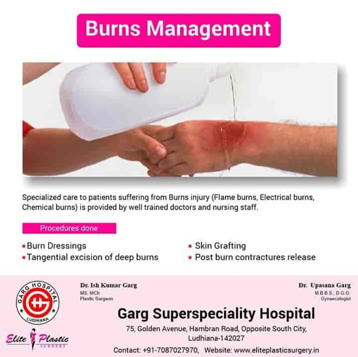 Garg Superspeciality Hospital & Elite Plastic Surgery