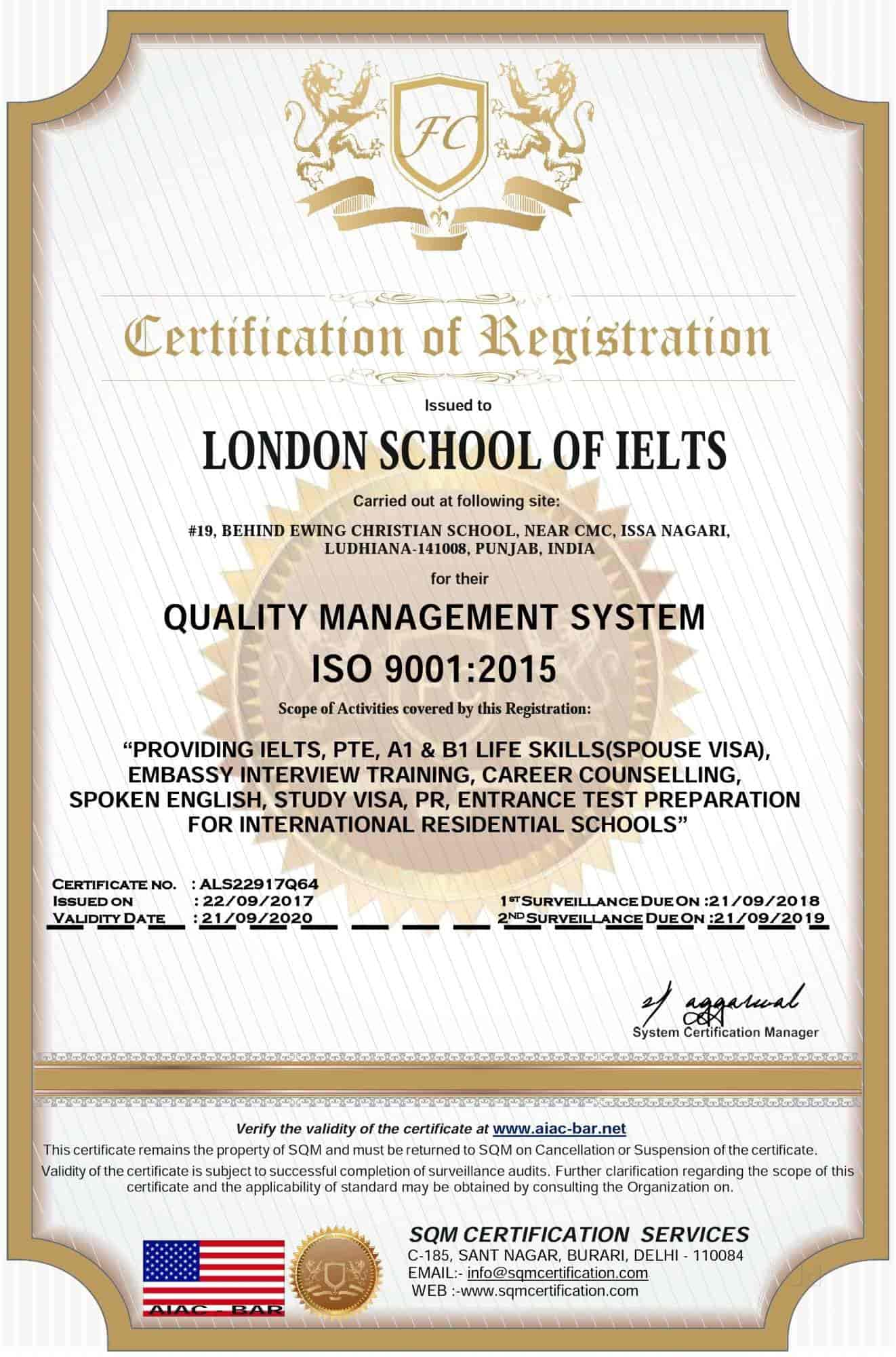 London School Of Ielts, Cmc Ludhiana - IELTS Tutorials in