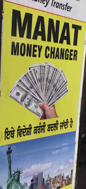 Mannat Money Changer, Ghumar Mandi - Foreign Exchange Agents
