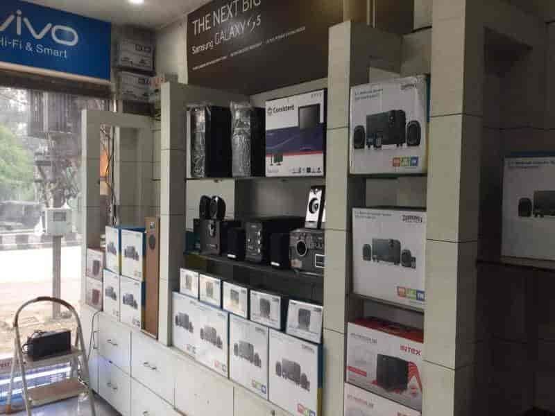 Inside View Of Mobile Shop