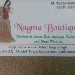Nagma Boutique, Model Town - Readymade Garment Retailers in Ludhiana