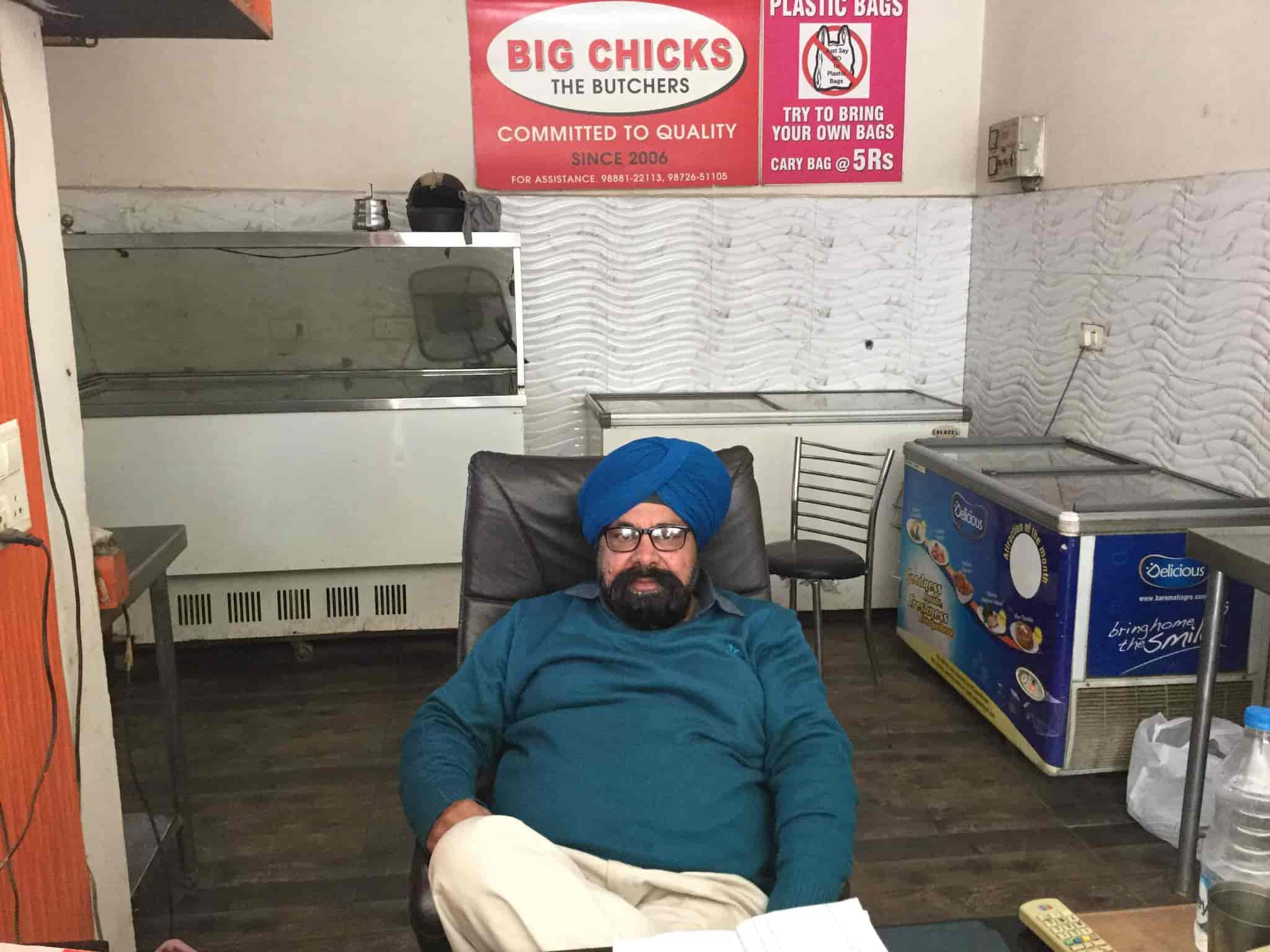 big chicks the butchers, pakhowal road - chicken retailers in