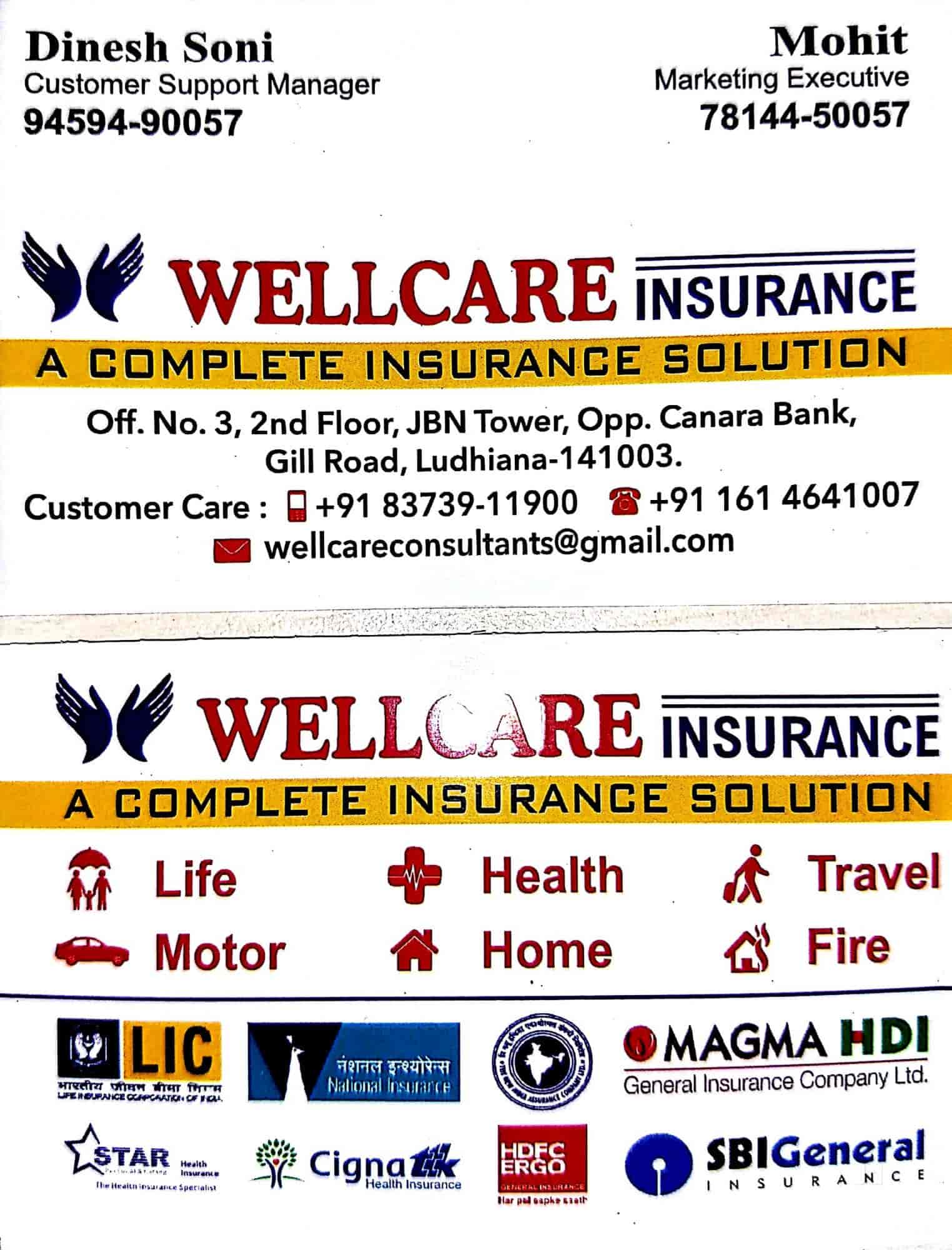 Wellcare Insurance Photos Gill Road Ludhiana Pictures Images