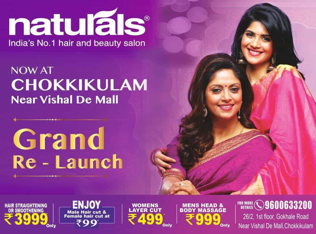 Naturals Salon And Spa Chinna Chokkikulam Body Massage Centres In Madurai Justdial
