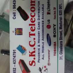 S k c telecom, Town Hall Road - Mobile Phone Accessory Wholesalers
