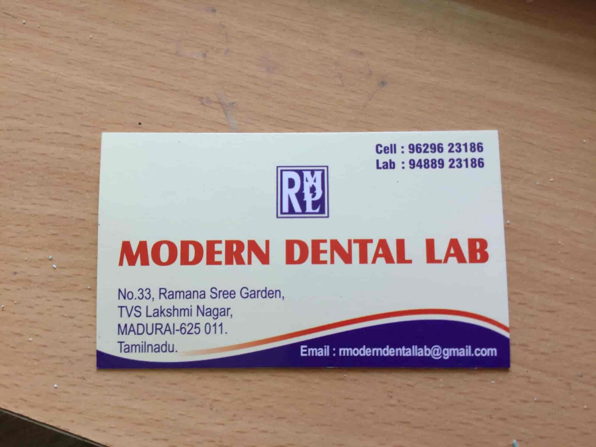 Modern Dental Lab Photos, TVS Nagar, Madurai- Pictures