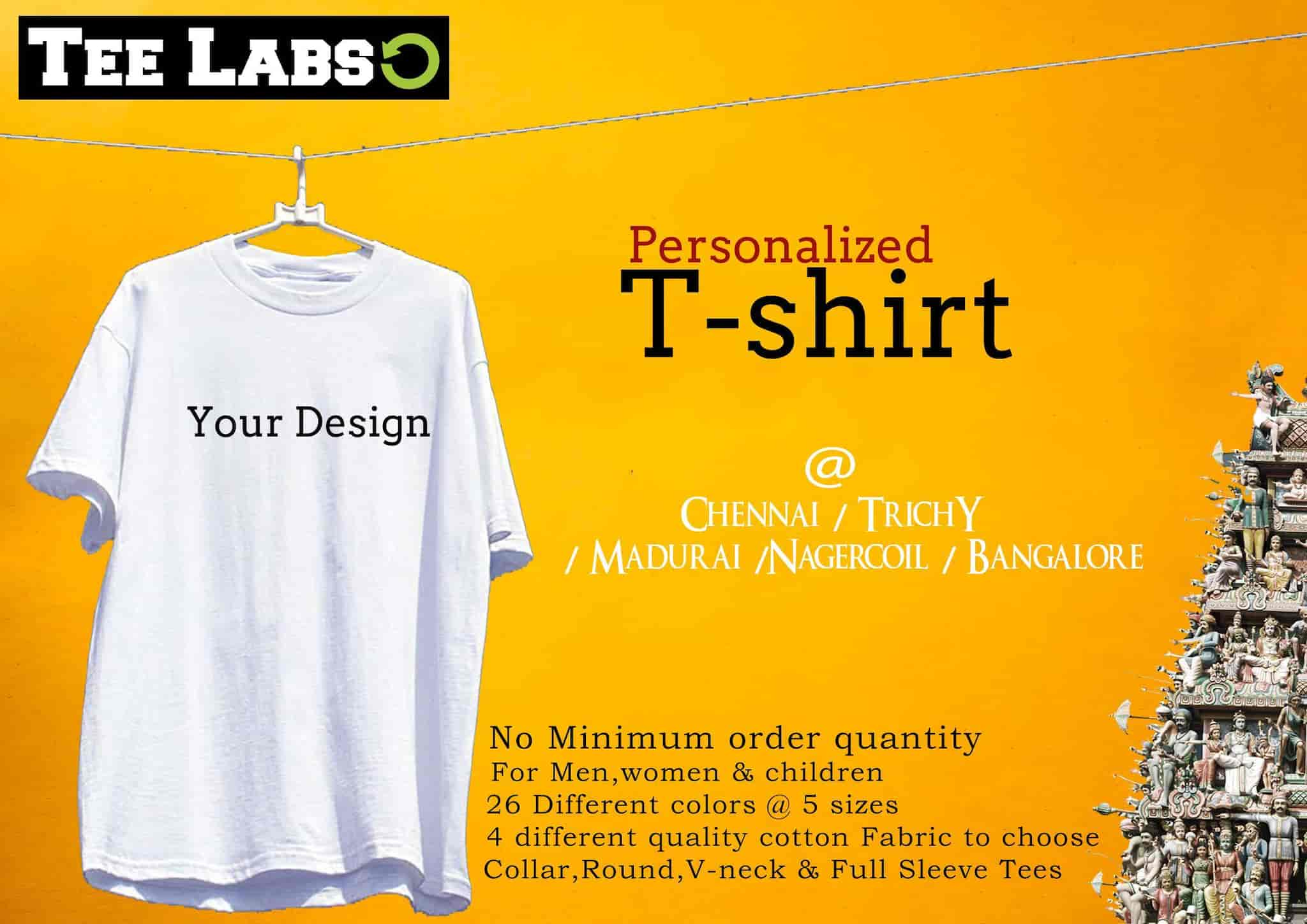 Personalized T Shirts No Minimum Order Lauren Goss