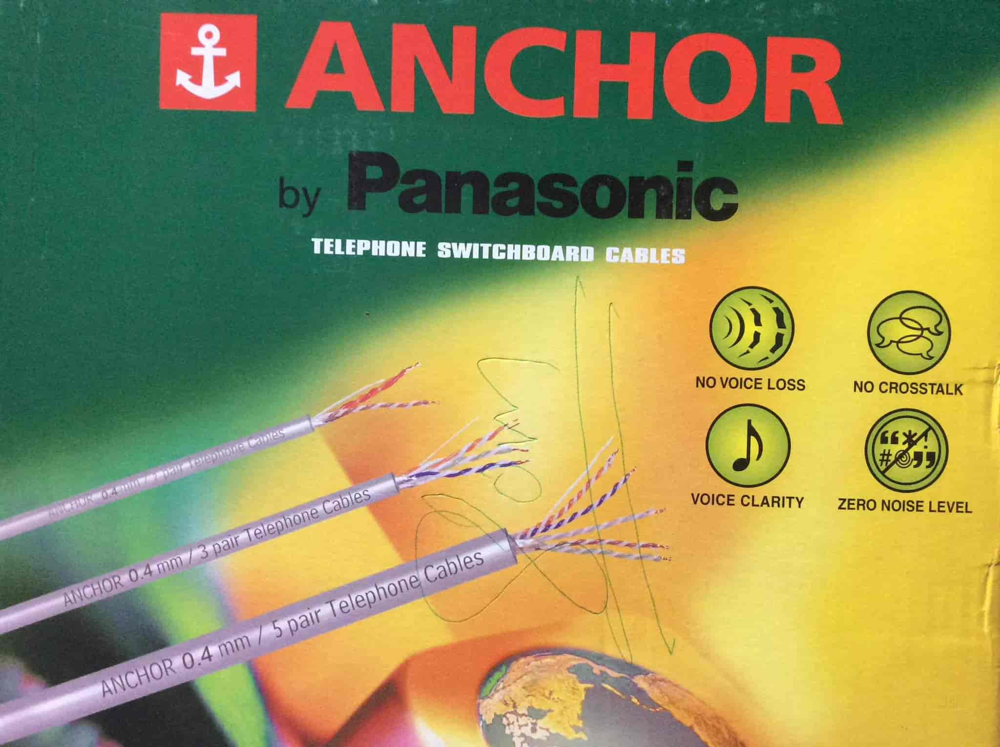 Mehar Electrical Works Cable Wire Dealers Anchor In Manali Justdial Residential Wiring Book Answers
