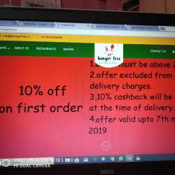 Hunger Free Online Food Delivery, Near Fly Over Bridge, Mancherial