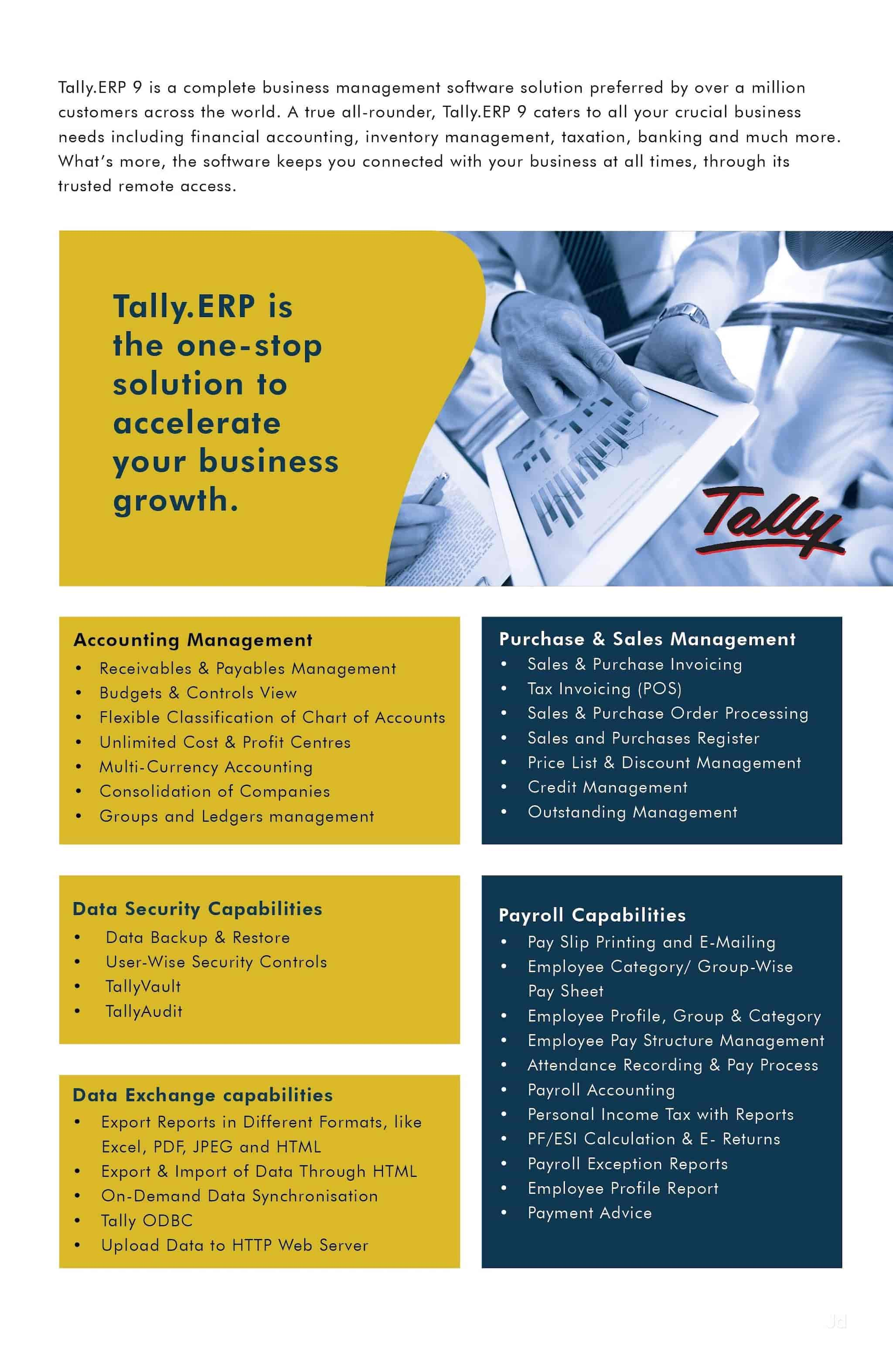 Tally Business Solutions, Kodialbail - Computer Software