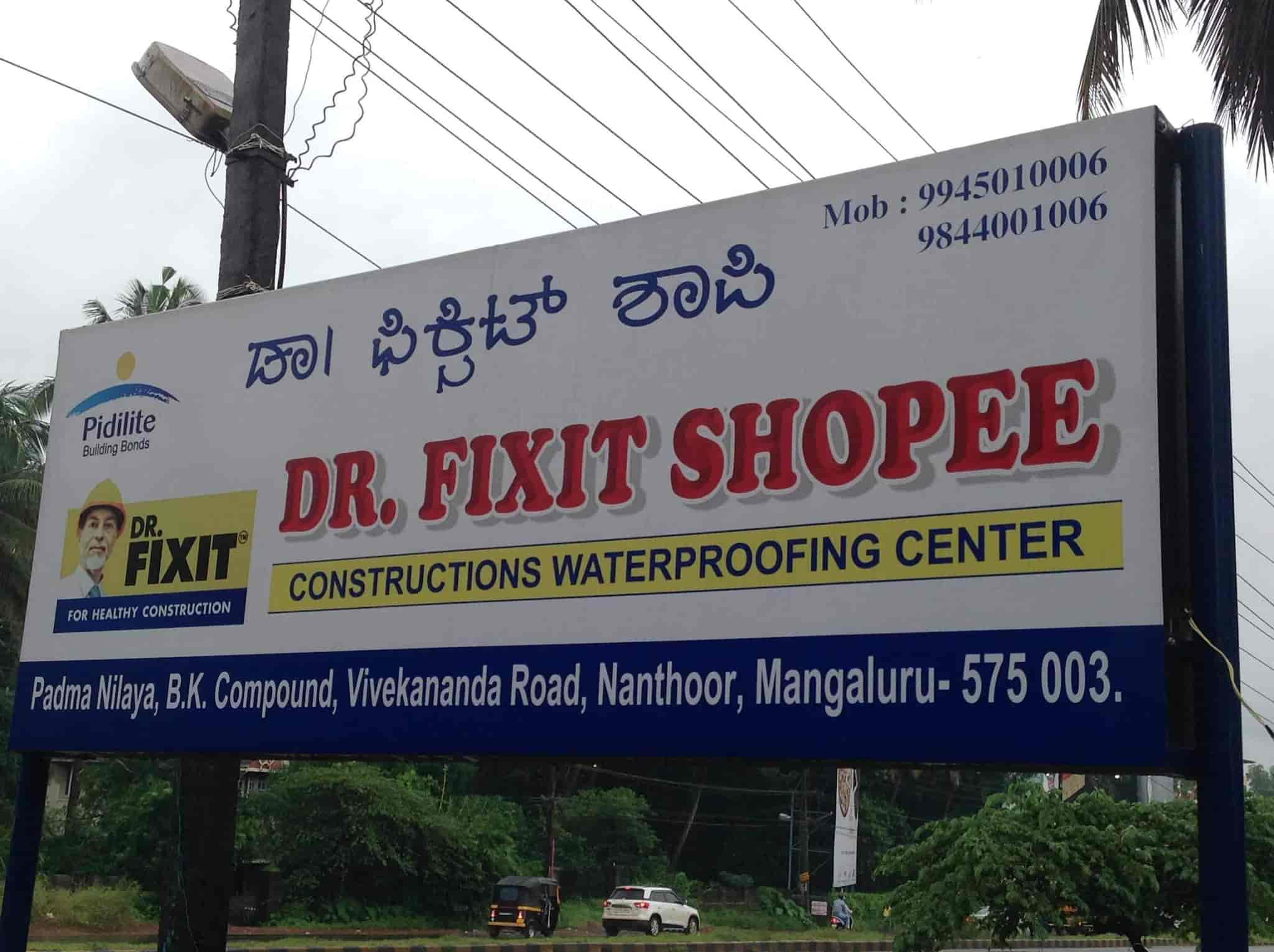 Dr Fixit Shoppe Nanthoor Waterproofing Contractors For Roof In Mangalore Justdial