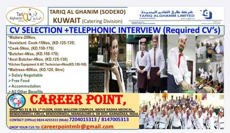 Career Point, Falnir Road - Overseas Placement Services (Candidate