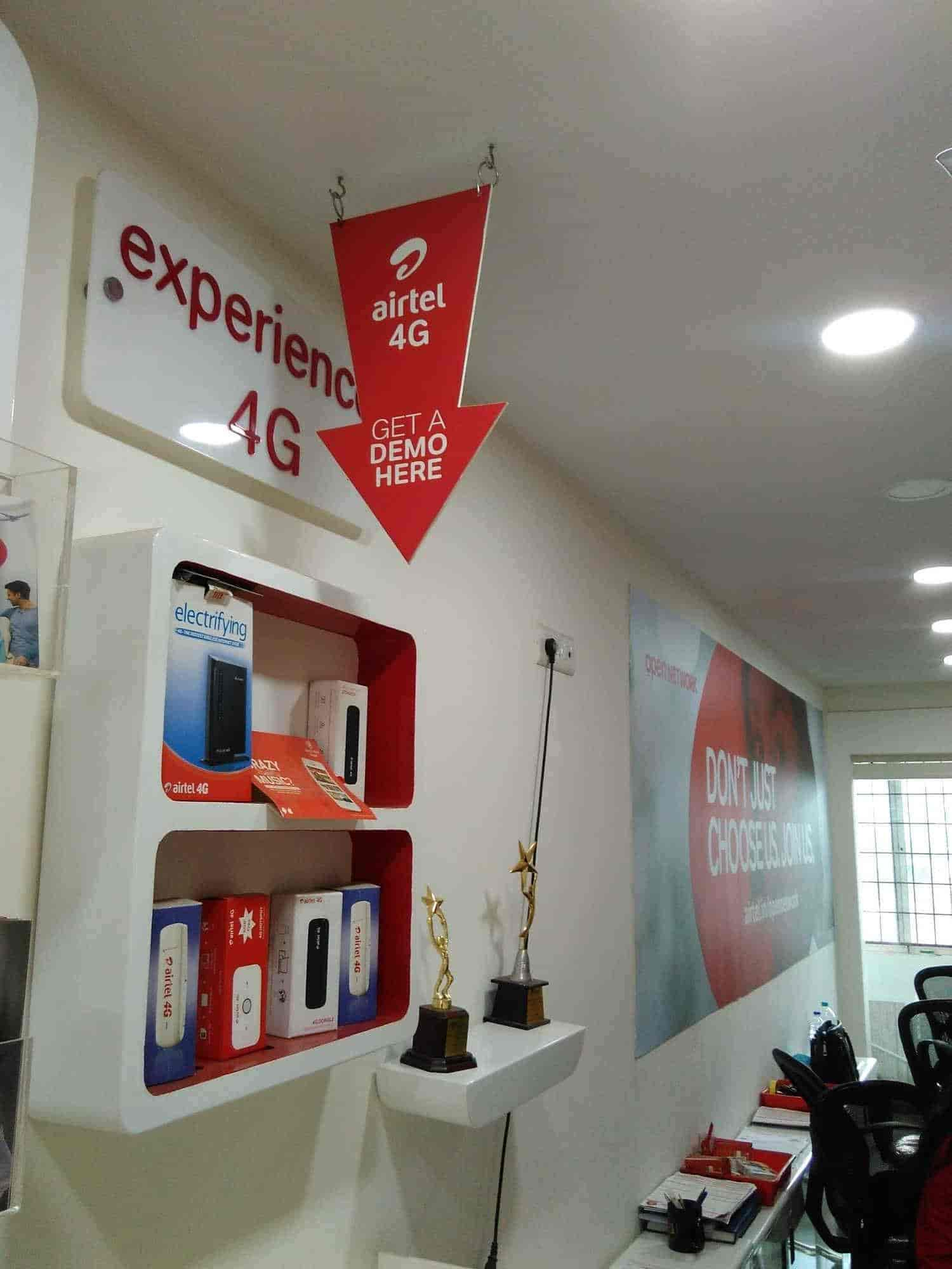 ... Inside View Of DTH TV Broadcast Service Provider   Airtel Express Outlet  Samruddhi Comunications Photos, ...