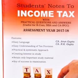 Income Tax Book For Ipcc
