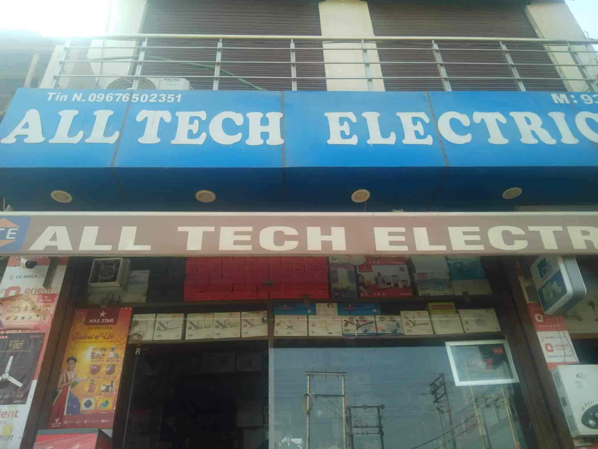 All Tech Electricals Cantt Electronic Goods Showrooms In Meerut Justdial