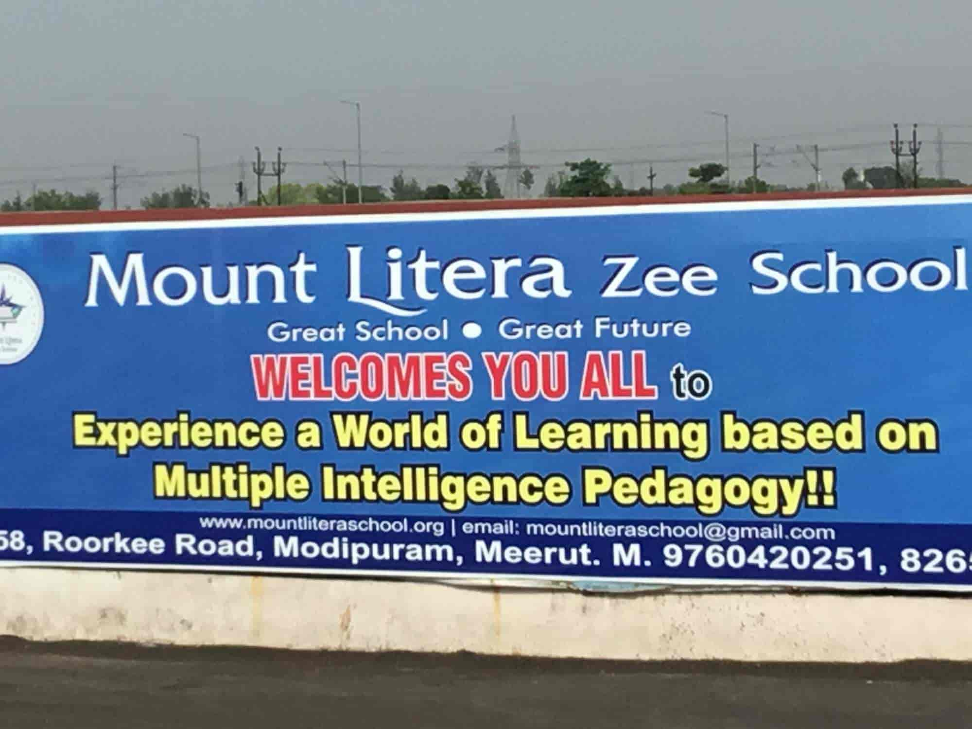 Mount Litera Zee School Modipuram Schools In Meerut Justdial
