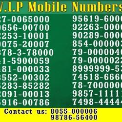 VIP Mobile Number Distributors India - VIP Mobile Number