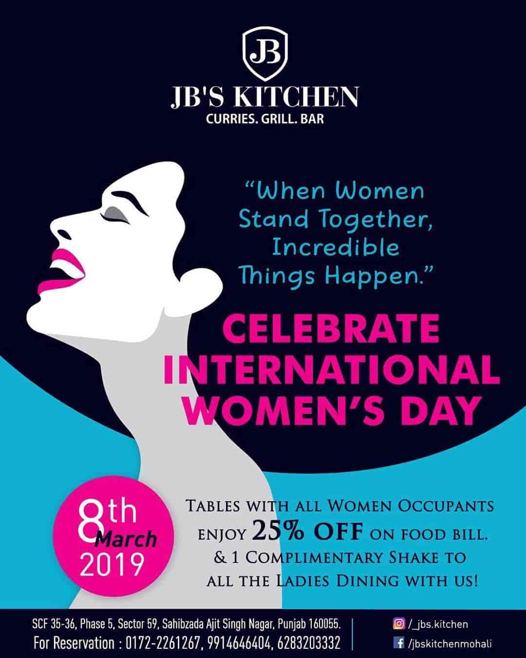 Jb S Kitchen Mohali Sas Nagar Multicuisine Restaurants In