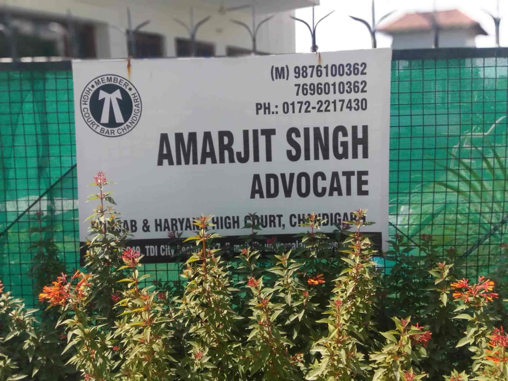 Amarjit Singh, Sector 117 - Lawyers in Mohali, Chandigarh - Justdial