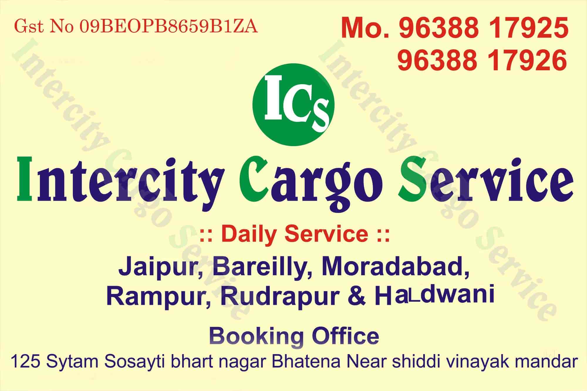 Intercity Cargo Service, Stationroad - Transporters in