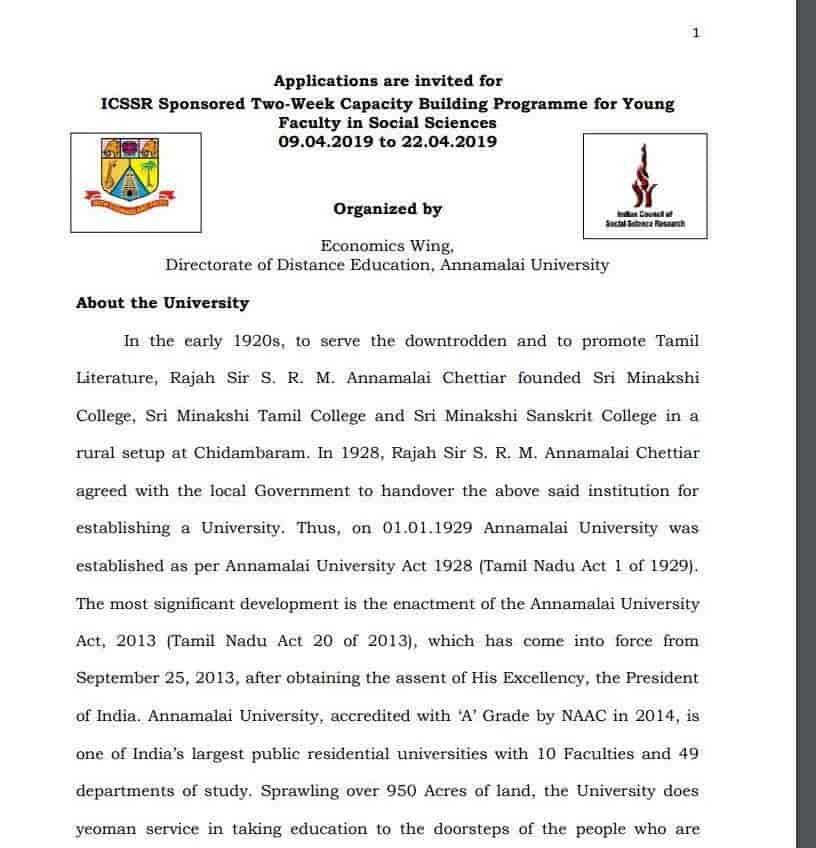 Annamalai University, Bhandup West - Institutes in Mumbai