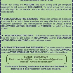 Media Craft, Jankalyan Nagar-Malad West - Acting Classes in