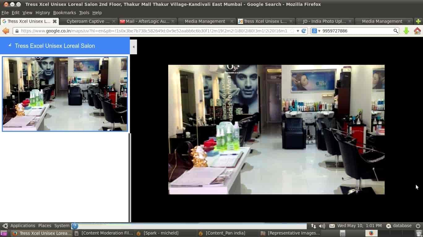 Tress excel loreal kandivali east beauty spas in mumbai justdial geenschuldenfo Image collections