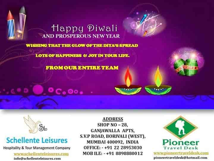 New Pioneer Travel >> Pioneer Travel Desk Borivali West Visa Assistance For Usa In