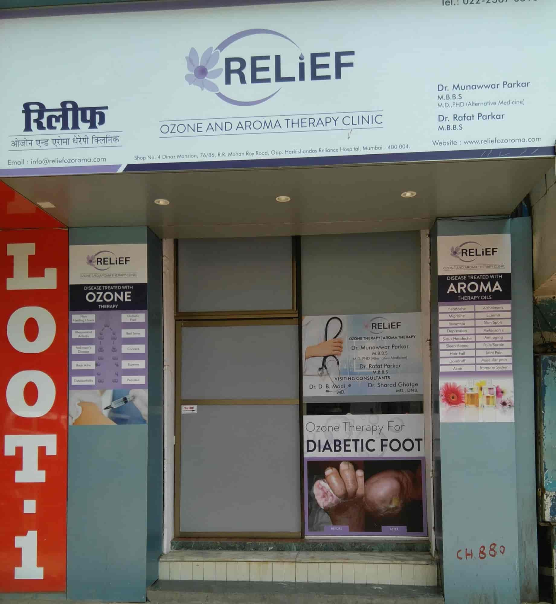 Relief Ozone And Aroma Therapy Centre Photos, Charni Road, Mumbai