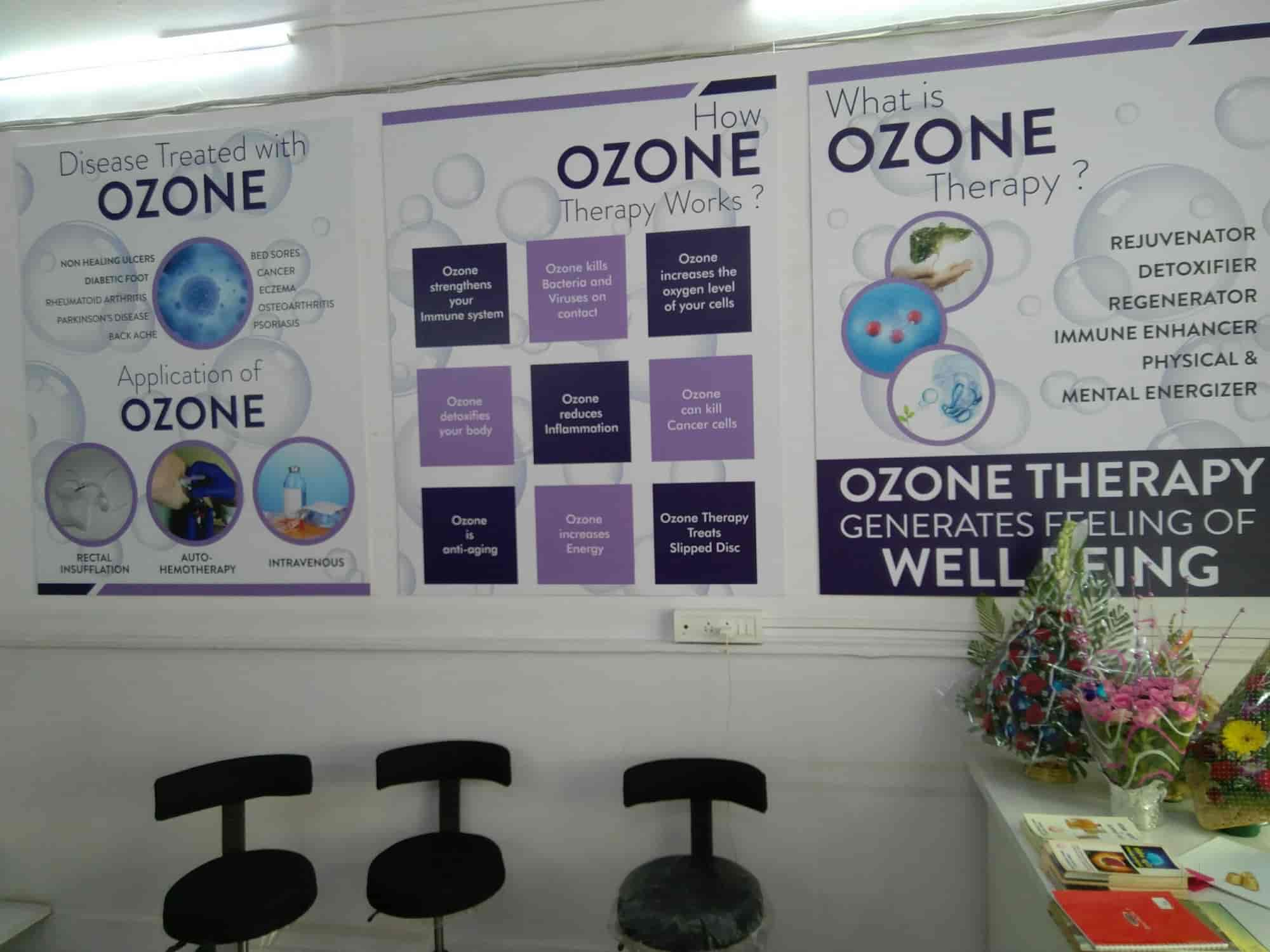 Relief Ozone And Aroma Therapy Centre - Ozone Therapy - Book