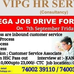Vipg Hr Service, Kandivali West - Placement Services (Candidate) in